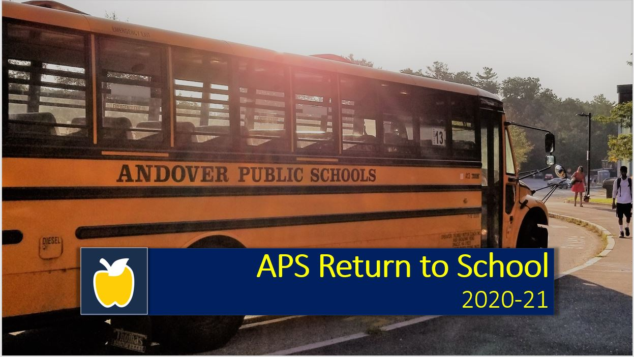 Return to School 2020 logo